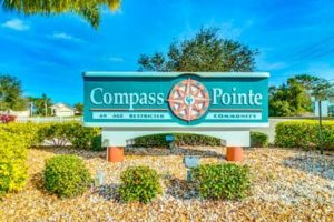 compass pointe sign